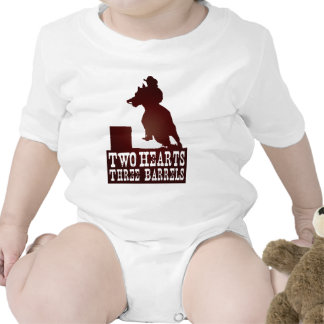 barrel racing cowgirl redneck horse baby creeper