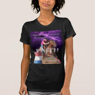 Barrel Racing Faith Tshirt