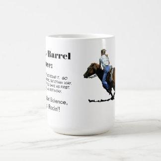 Barrel Racing - Girls - How to Barrel Race. Coffee Mug