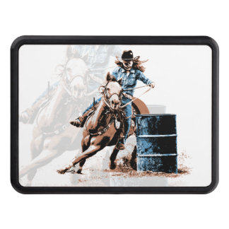 Barrel Racing Hitch Cover