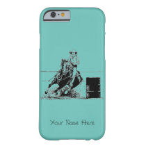Barrel Racing Horse Barely There iPhone 6 Case