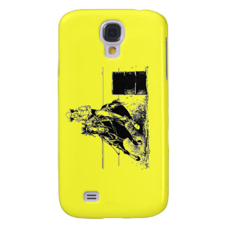 Barrel Racing Horse & Cowgirl Samsung S4 Case
