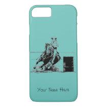 Barrel Racing Horse iPhone 8/7 Case