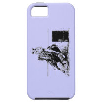 Barrel Racing Horse iPhone SE/5/5s Case