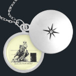 """Barrel Racing Horse Silver Plated Necklace<br><div class=""""desc"""">Barrel racing horse necklace -- wear it with anything!</div>"""