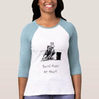 Barrel Racing Horse Tee Shirt