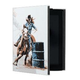 Barrel Racing iPad Cover