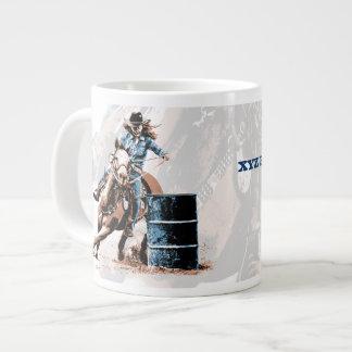 Barrel Racing Large Coffee Mug