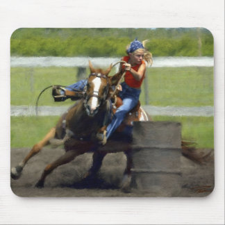 Barrel Racing,  Lil BR Mouse Pad