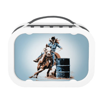 Barrel Racing Lunch Box