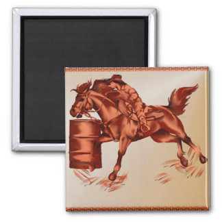 Barrel Racing _Magnet Magnet