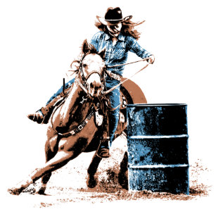 ef0ff09eb2f37 Barrel Racing Gifts on Zazzle