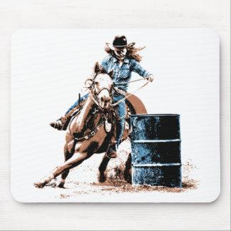 Barrel Racing Mouse Pad