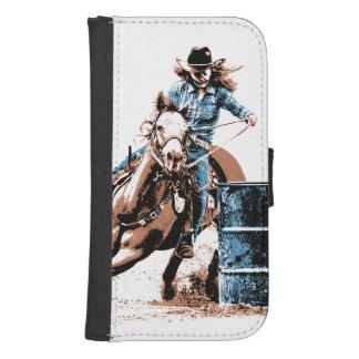 Barrel Racing Phone Wallet