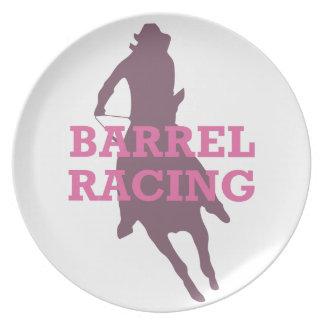 BARREL RACING PARTY PLATES