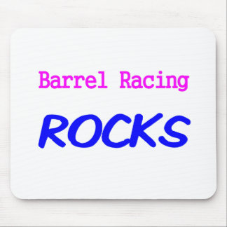 Barrel Racing Rocks Mouse Pad