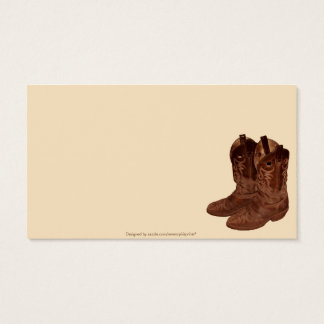 Barrel-Racing Rodeo Cowgirl Designer #Gift Business Card