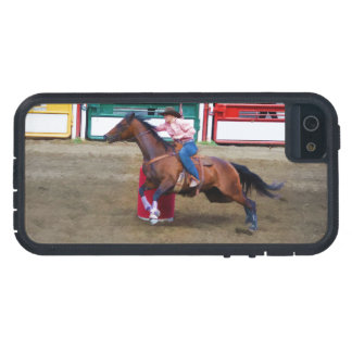 Barrel-Racing Rodeo Cowgirl Designer #Gift iPhone SE/5/5s Case