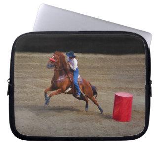 Barrel-Racing Rodeo Cowgirl Designer Sleeve