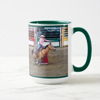 Barrel-Racing Rodeo Cowgirl DesignI Mug