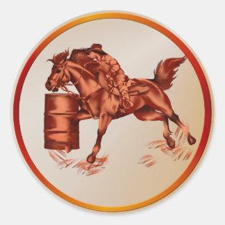 Barrel Racing Sticker