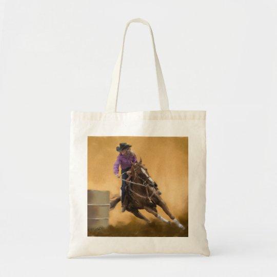 Barrel Racing Tote Bag