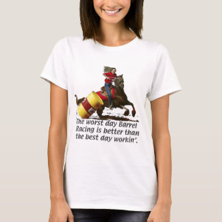 Barrel Racing -  V Work T-Shirt