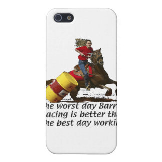 Barrel Racing - V Workin' iPhone SE/5/5s Cover