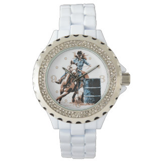 Barrel Racing Wrist Watch