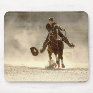 Barrel Racing - Young Rider - Home stretch Mouse Pad