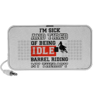 barrel ride is my therapy mini speaker