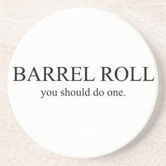 Barrel Roll 1 Coaster