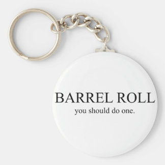 Barrel Roll 1 Keychain
