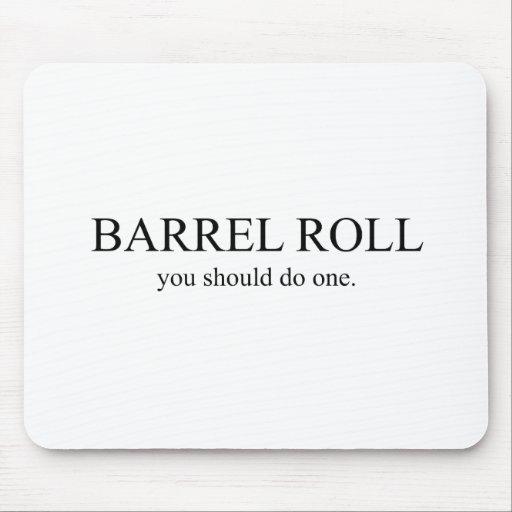 Barrel Roll 1 Mouse Pad