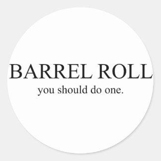 Barrel Roll 1 Stickers