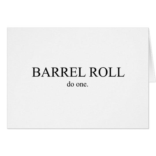 Barrel Roll 2 Card