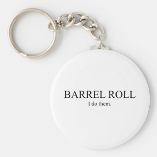 Barrel Roll 3 Keychain