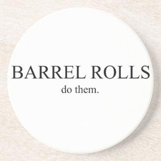 Barrel Roll 5 Coaster