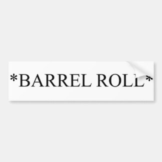 Barrel Roll 6 Bumper Stickers