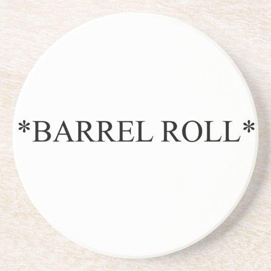 Barrel Roll 6 Coaster