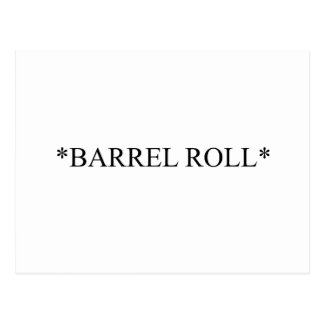 Barrel Roll 6 Postcard