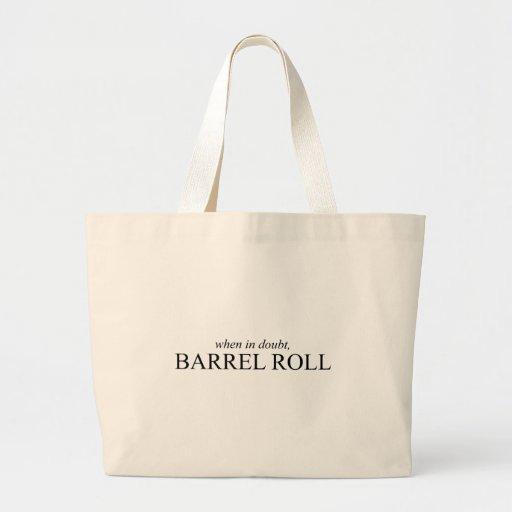 Barrel Roll 7 Canvas Bags