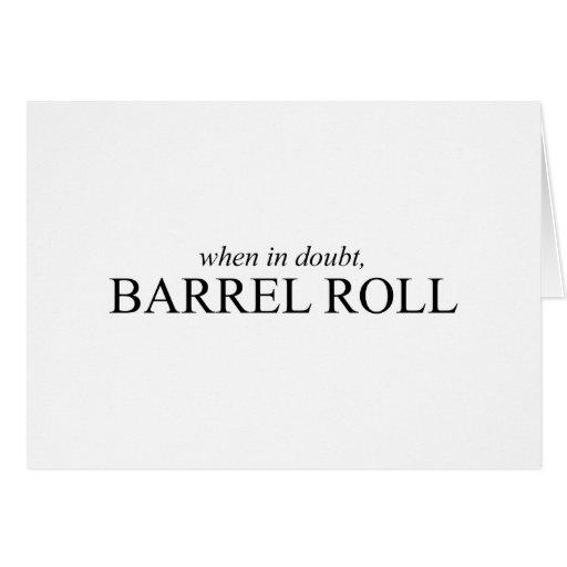Barrel Roll 7 Card