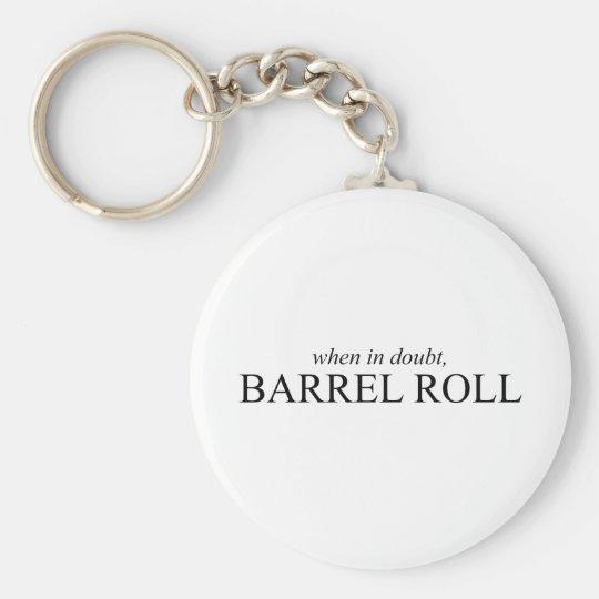 Barrel Roll 7 Keychain