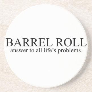 Barrel Roll 8 Coaster