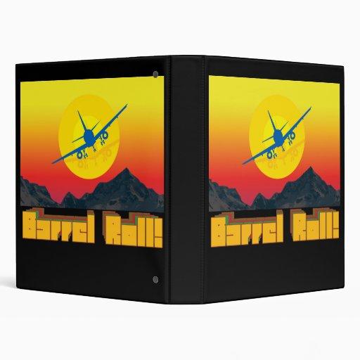 Barrel Roll Retro Binder 1