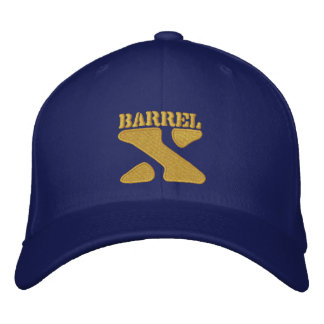 Barrel X Limited-Embroidered Hat Embroidered Baseball Cap