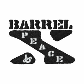 "Barrel X Limited ""Peace"" T-Shirt-Embroidered"
