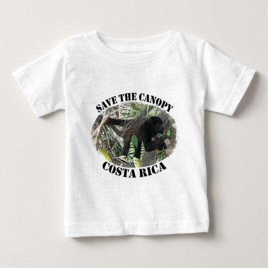 Barrel X Limited Surf Costa Rica Baby T-Shirt