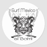 Barrel X Limited Surf Mexico Stickers